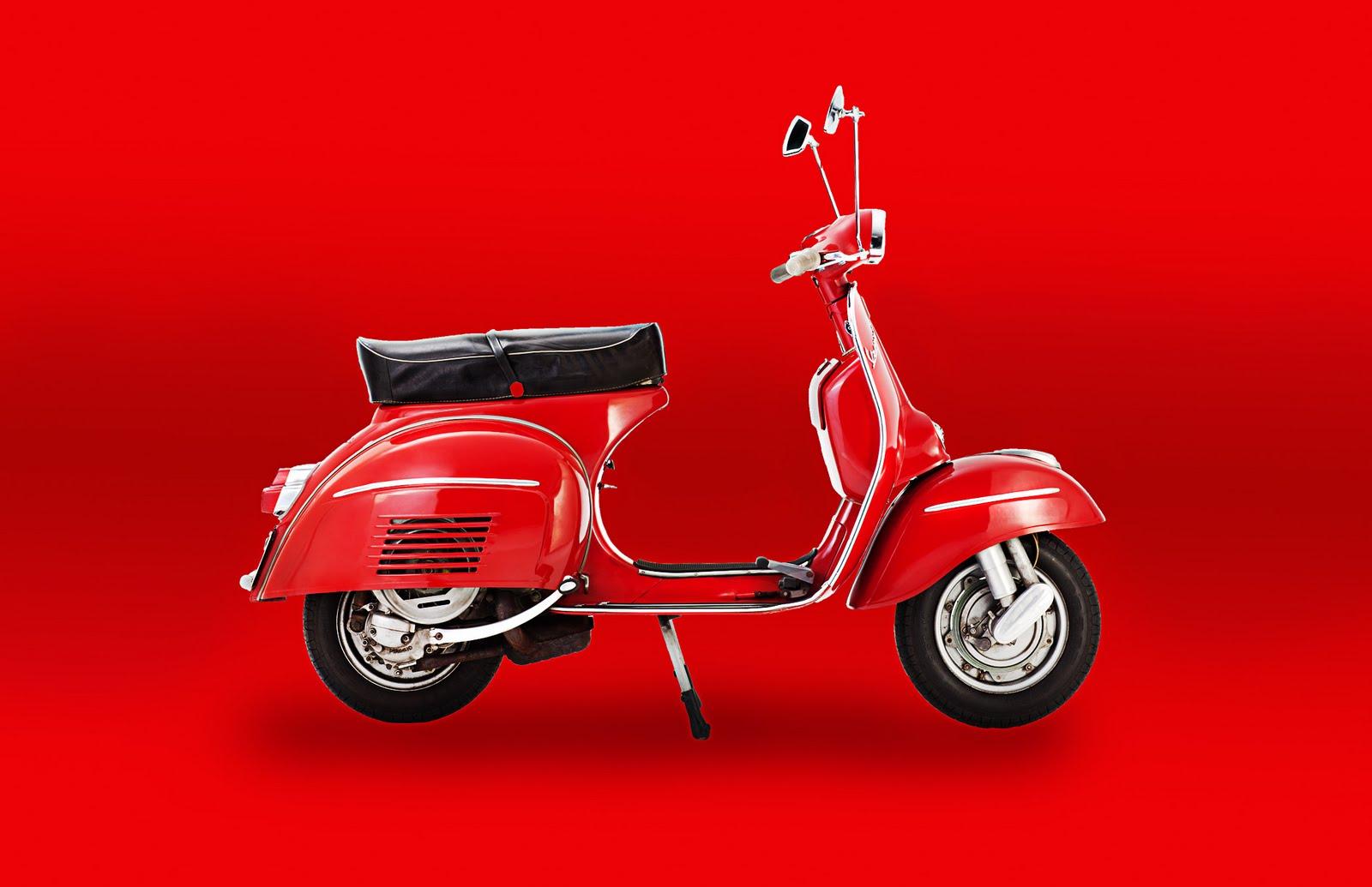 LIFESTYLE VINTAGE LIFESTYLE VINTAGE: GET THE LOOK Red Vespa Red BG