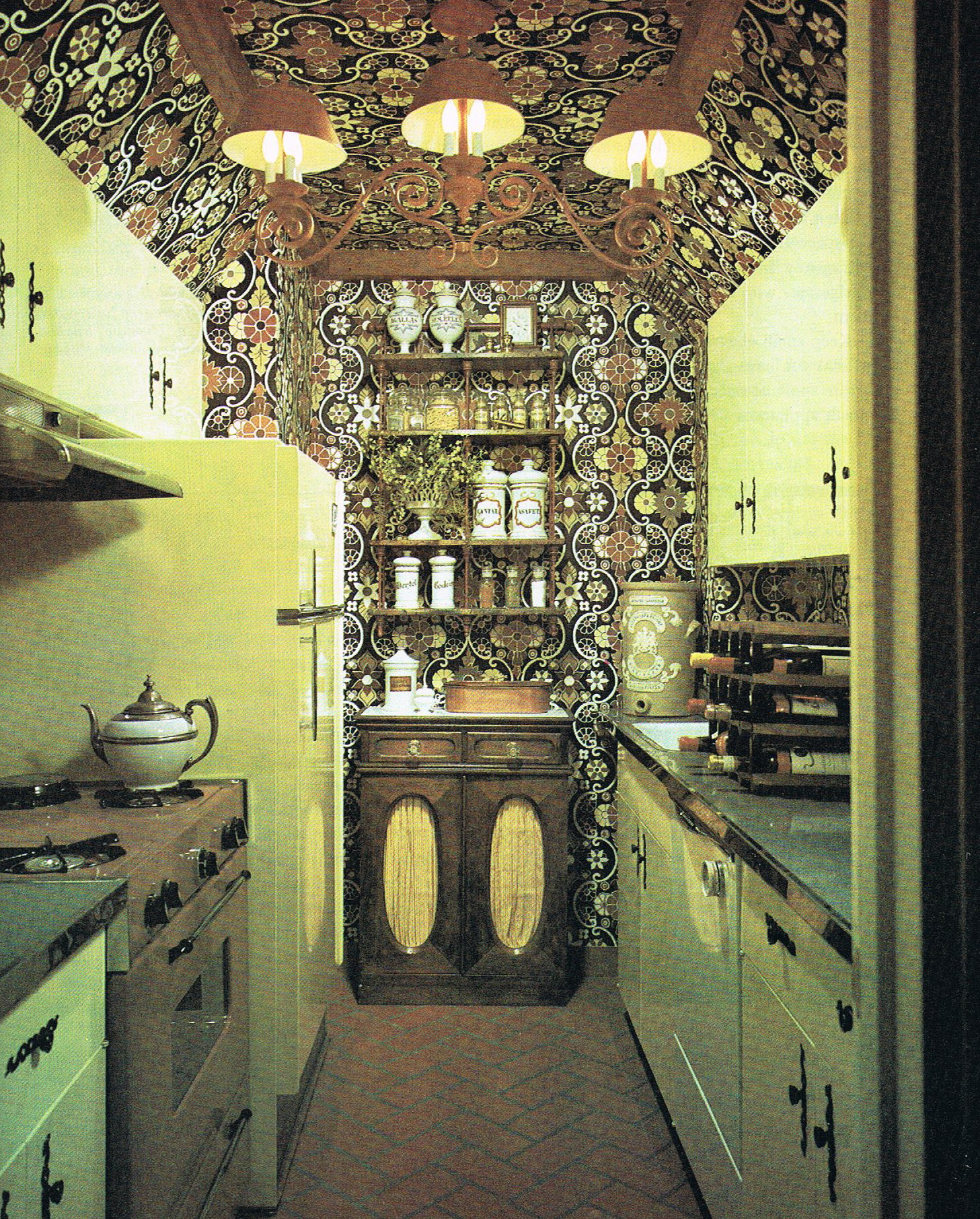 Vintage-Interior-Design-Kitchen  Vintage Industrial Style