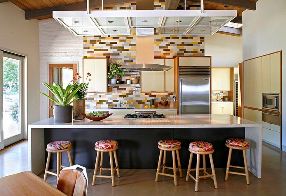 4 Inspiring Mid-Century Modern Homes portola valley house charles delisle1