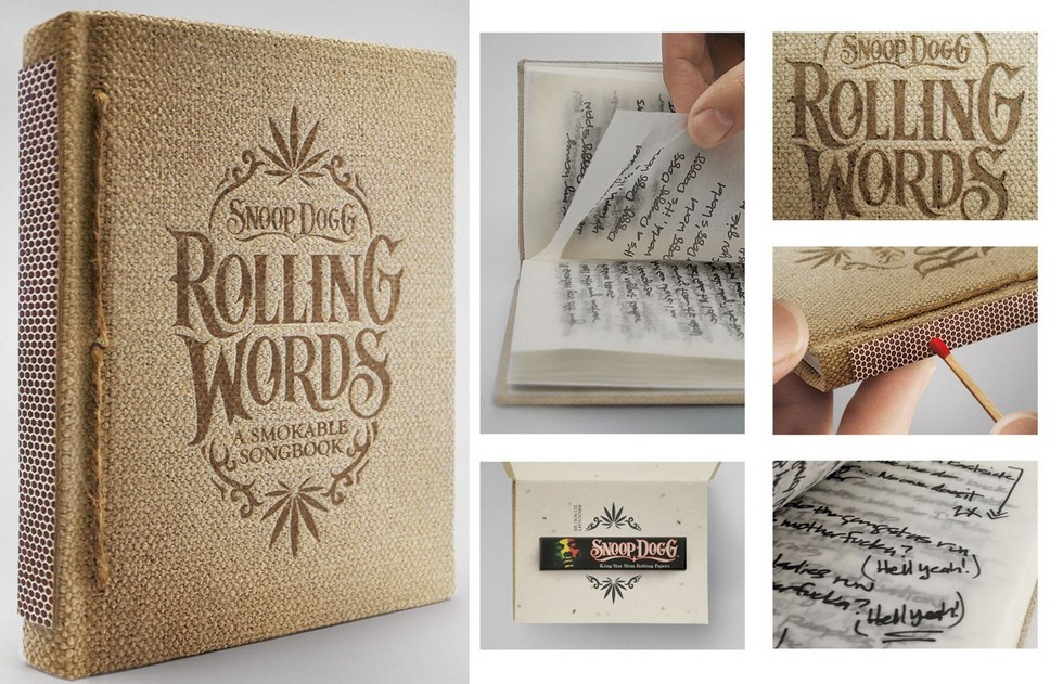 10 Most Creative Packaging Design  rollingwords book1