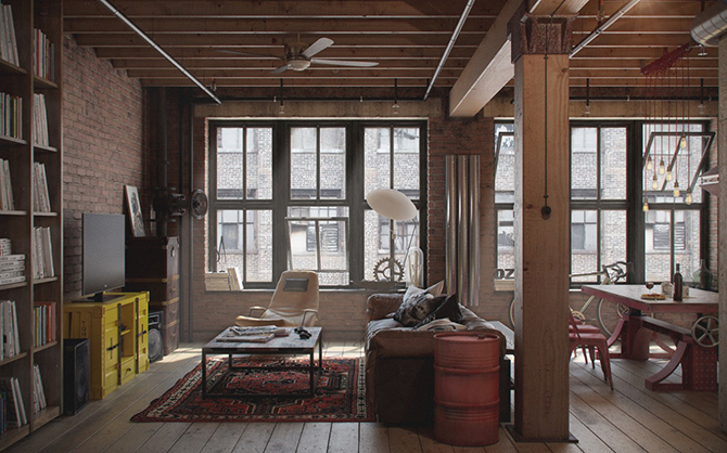 10 Ways to Transform your Interiors with Industrial Style Details7 10 Ways to Transform your Interiors with Industrial Style Details7