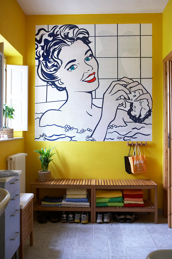 """colorful bathroom""  great ways to design your interiors with pop art style_8 great ways to design your interiors with pop art style 81"