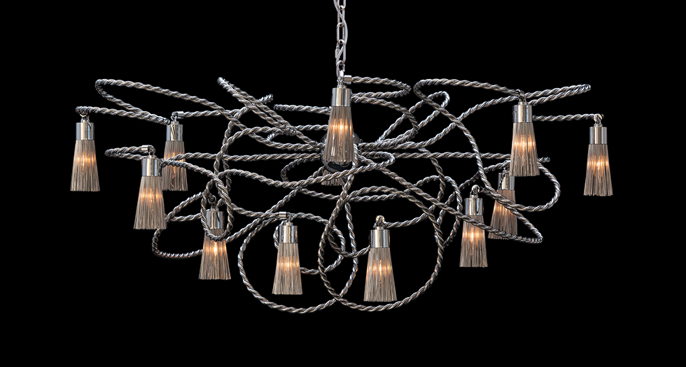 """chandelier""  One of the Best Chandelier Brands in Light and Building 2014  One of the Best Chandelier Brands in Light and Building 2014 capa"