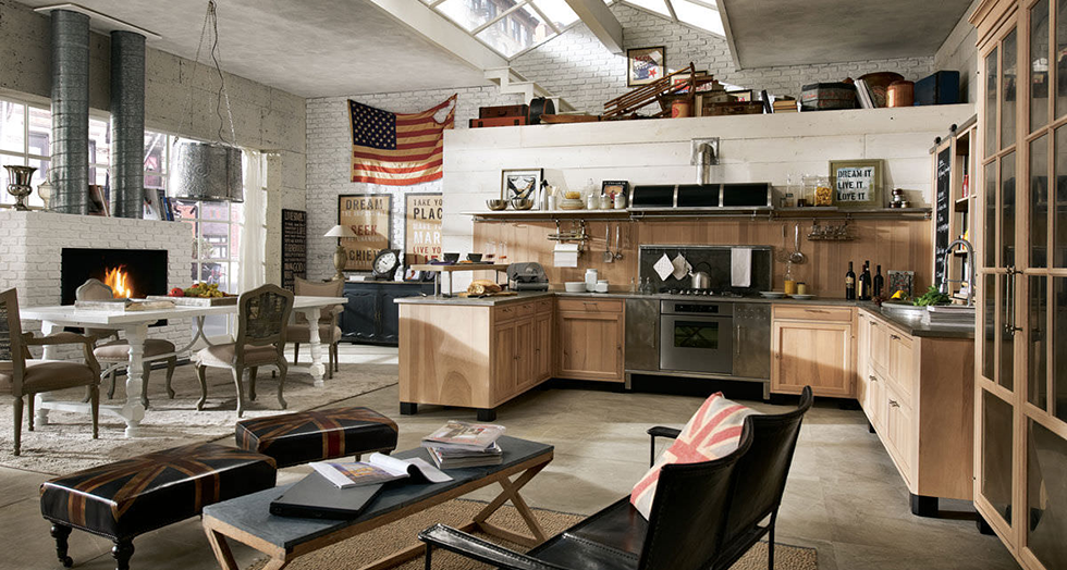 """industrial kitchen""  How to create Industrial style Interiors  how to create industrial interiors capa"