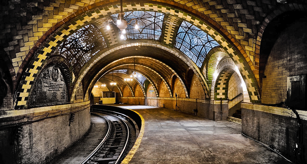 """""""new york city hall subway""""  The Old Vintage New York City Hall Subway new york city hall subway capa"""
