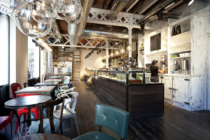"""industrial restaurant""  vintage industrial tips for coffes and restaurants_5 vintage industrial tips for coffes and restaurants 5"
