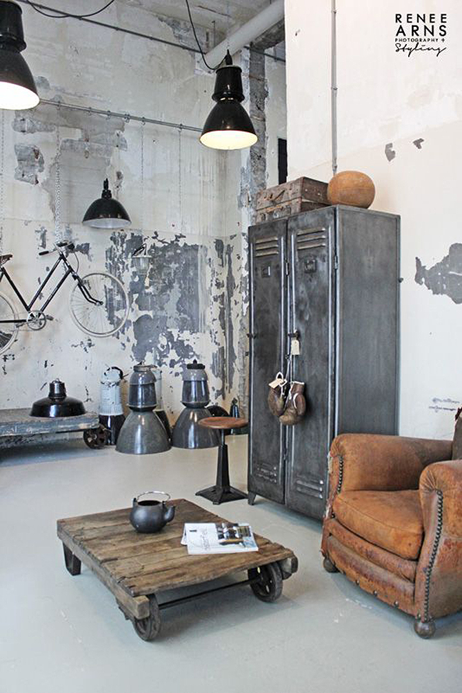 """""""industrial interiors""""  Good Ideas to apply industrial style in you interiors_6 Good Ideas to apply industrial style in you interiors 6"""