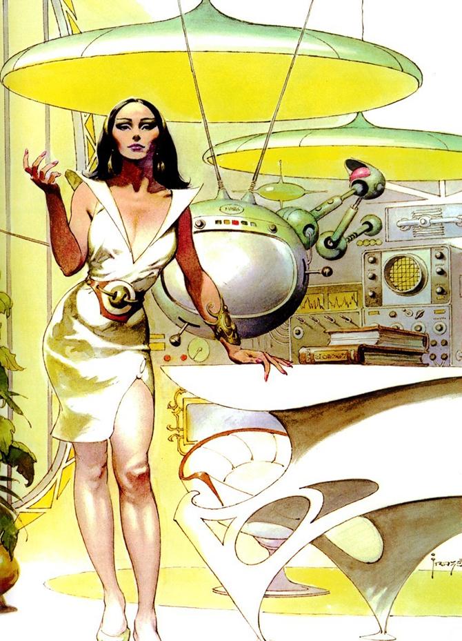 """""""retro futusistic artwork""""  amazing retro futuristic art_12 amazing retro futuristic art 12"""