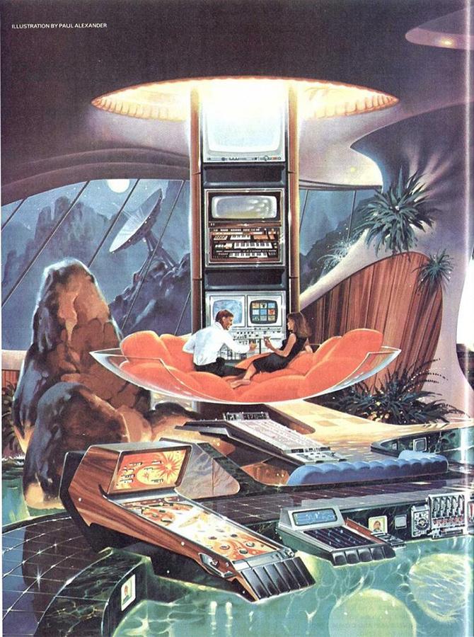 """""""retro futusistic artwork""""  amazing retro futuristic art_15 amazing retro futuristic art 15"""