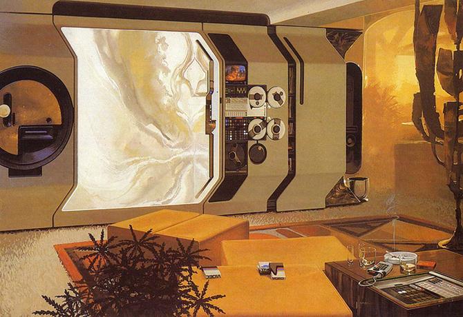 """""""retro futusistic artwork""""  amazing retro futuristic art_4 amazing retro futuristic art 4"""