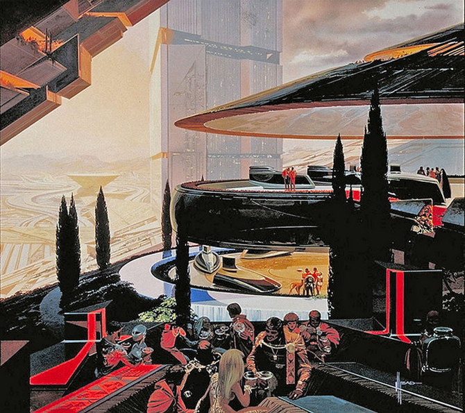 """""""retro futusistic artwork""""  amazing retro futuristic art_5 amazing retro futuristic art 5"""