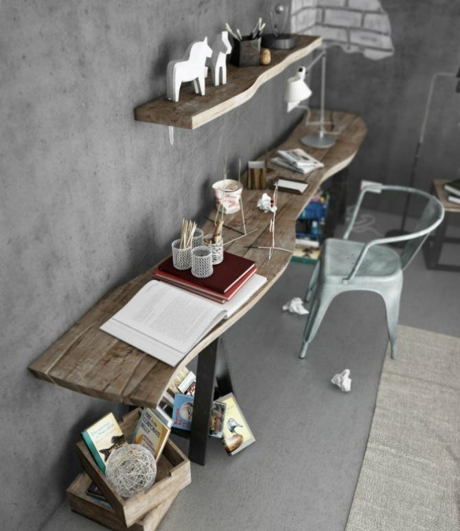 Driftwood desk Driftwood desk 665x798