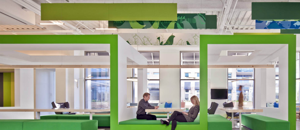 INTERIOR DESIGN GIANTS : NOKIA SILICON VALLEY OFFICES BY GENSLER featured image1