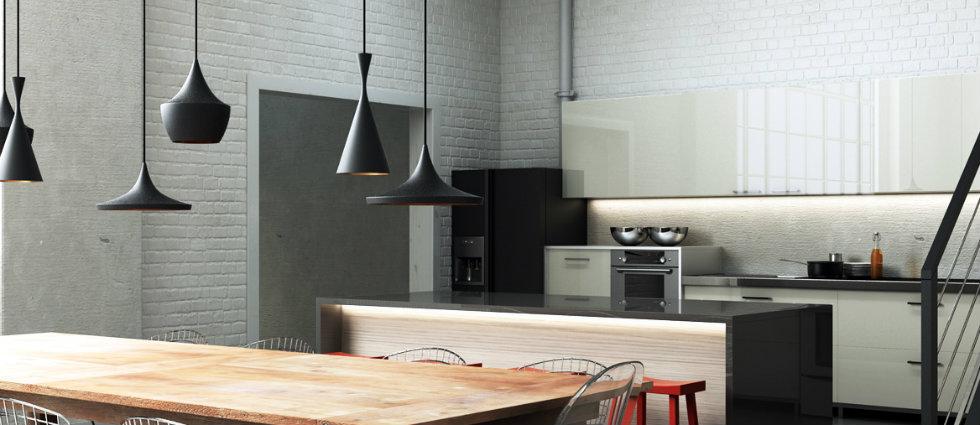 Kitchen decor - the best industrial lighting fixtures