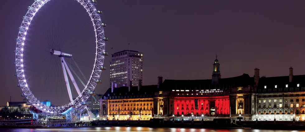 Top 5 Best Architectural Lighting Projects in London UN County Hall