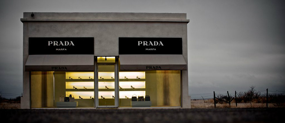 The Prada store that got lost in the desert  The Prada store that got Lost in the Desert The Prada store that got lost in the desert featured