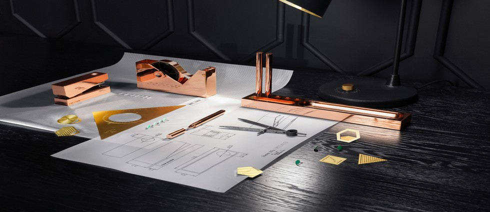 Tom Dixon New Copper Stationary To Lauch at Maison & Objet  TOM DIXON NEW COPPER STATIONARY TO LAUNCH AT MAISON & OBJET Tom Dixon New Copper Stationary To Lauch at Maison Objet Feature