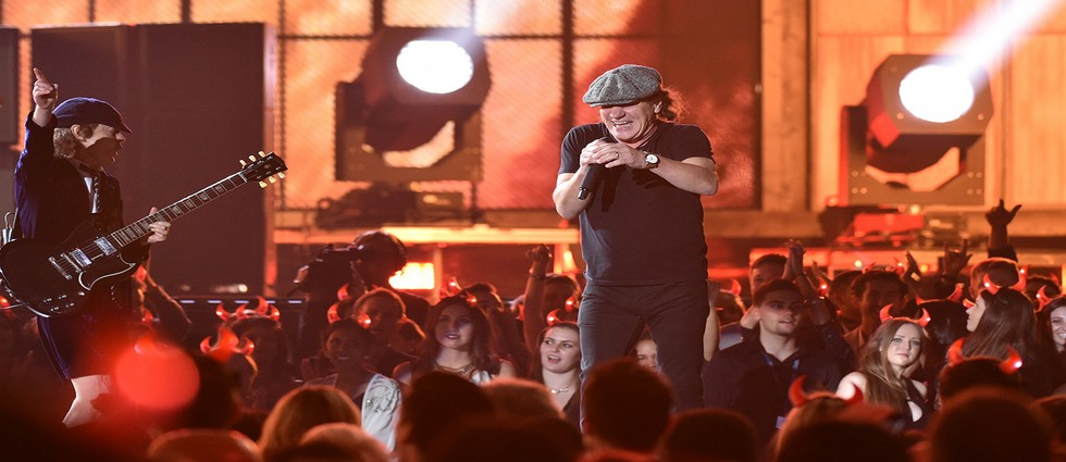 AC/DC Open 57th Annual Grammy Awards ACDC Open 2015 Grammys Feature