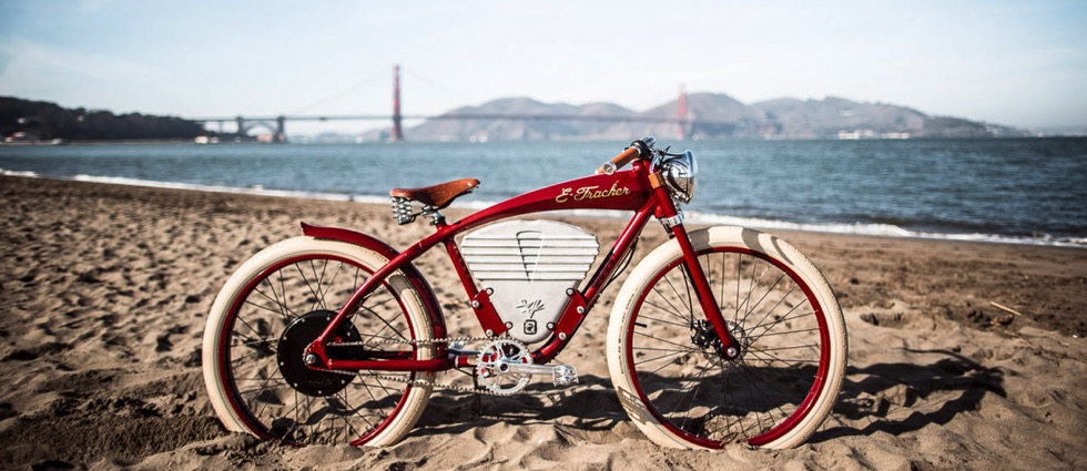 The E-Tracker by Vintage Electric Bikes The E Tracker by Vintage Electric Bikes
