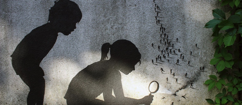 The Minimalist Street Art of Pejac
