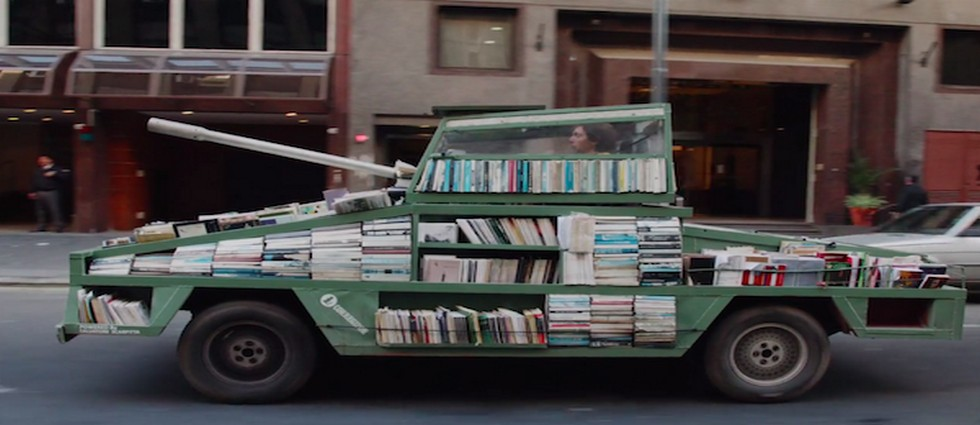 Vintage Car Into a Book Tank  Vintage Car Into a Book Tank Vintage Car Into a Book Tank