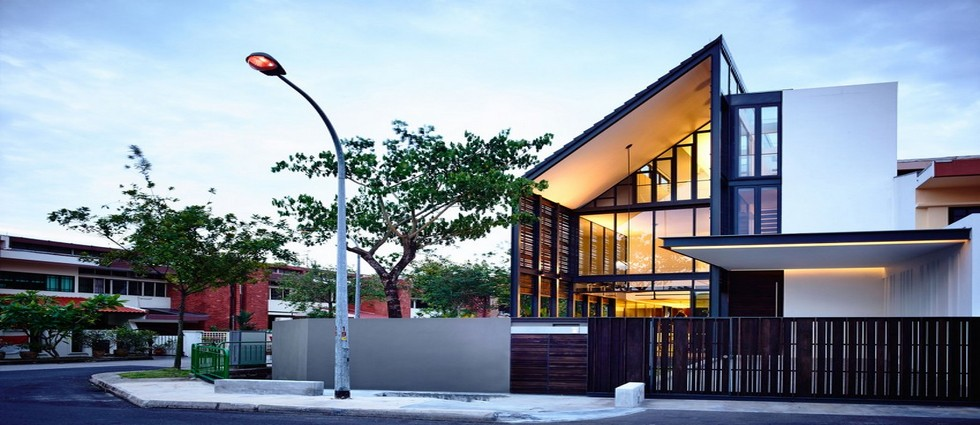 Singapore Lines of Light Residence in Singapore Lines of Light Residence in Singapore Feature