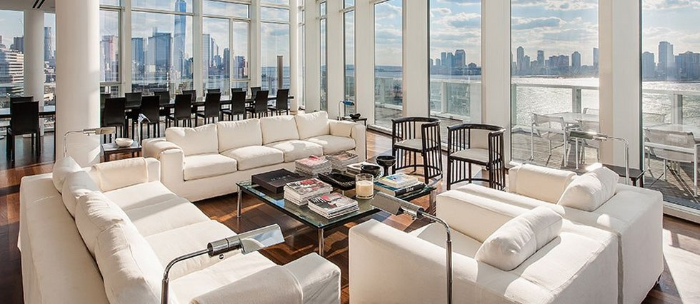 penthouse Richard Meier Industrial style penthouse by Richard Meier pent23