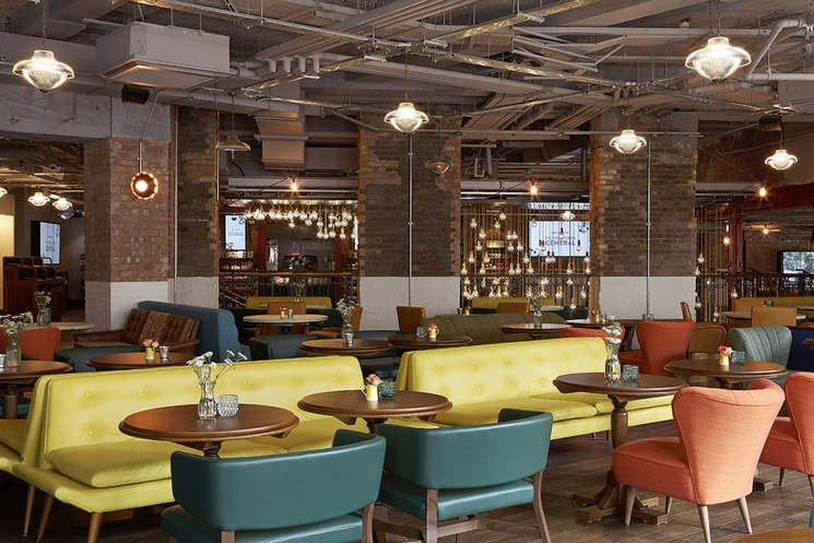 PICTUREHOUSE London Vintage Inspirations: PICTUREHOUSE CENTRAL LONDON Picturehouse Central London By Martin Brudnizki Design Studio 9