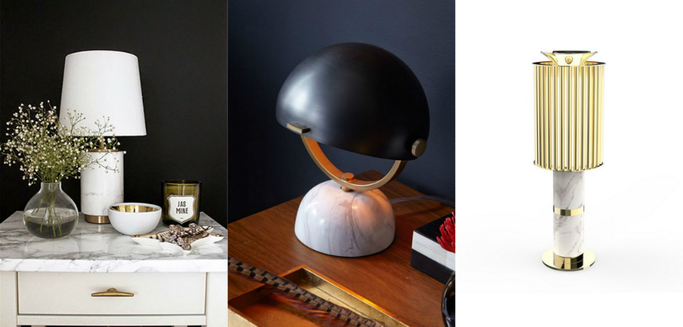 10 Lighting Designs with Marble for a Vintage Home