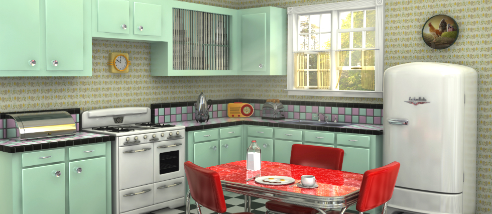 how to create a retro kitchen feature kitchen ideas Retro inspirations for your kitchen ideas how to create a retro kitchen featured