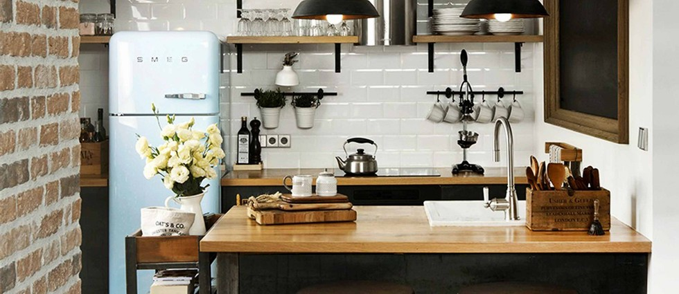 Charming Lighting designs for your vintage Industrial dining room