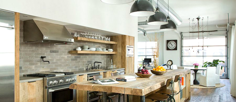 featured kitchen decorating ideas Industrial style: lighting for your kitchen decorating ideas featured