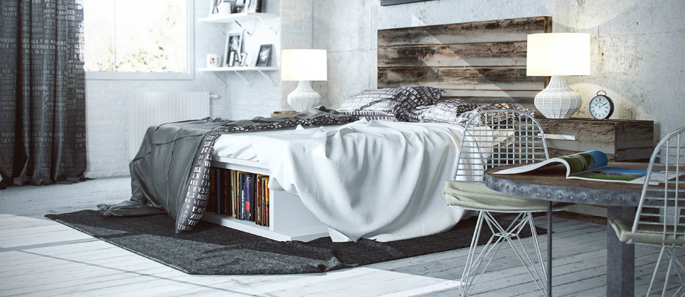 featured industrial bedroom ideas 10 Industrial interiors bedroom ideas featured industrial