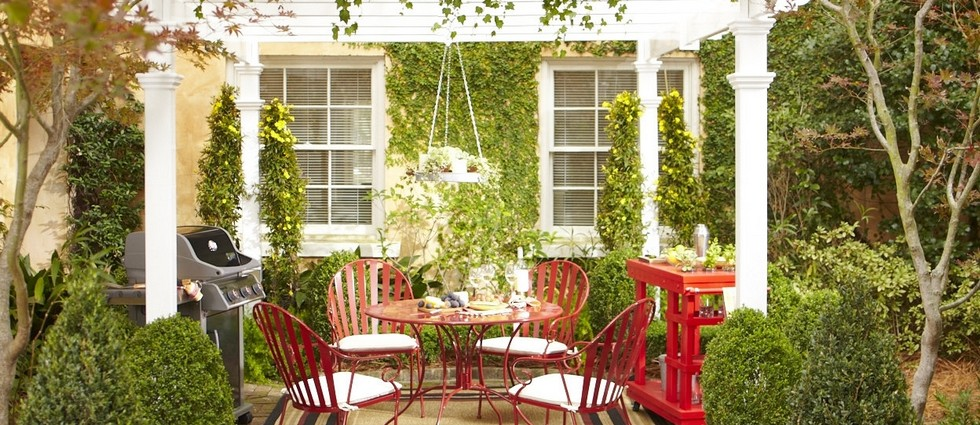 Splendid ideas for your vintage patio set
