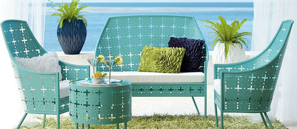 Innovative summer trends for your vintage patio sets