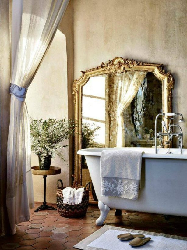 French Country Inspiration | Bathroom french country French Country Inspiration Décor French Country Inspiration D  cor 5 e1467129969450