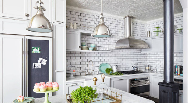 industrial style 7 ways to transform interiors with industrial style details ceiling tiles kitchen decor ideas glam featured