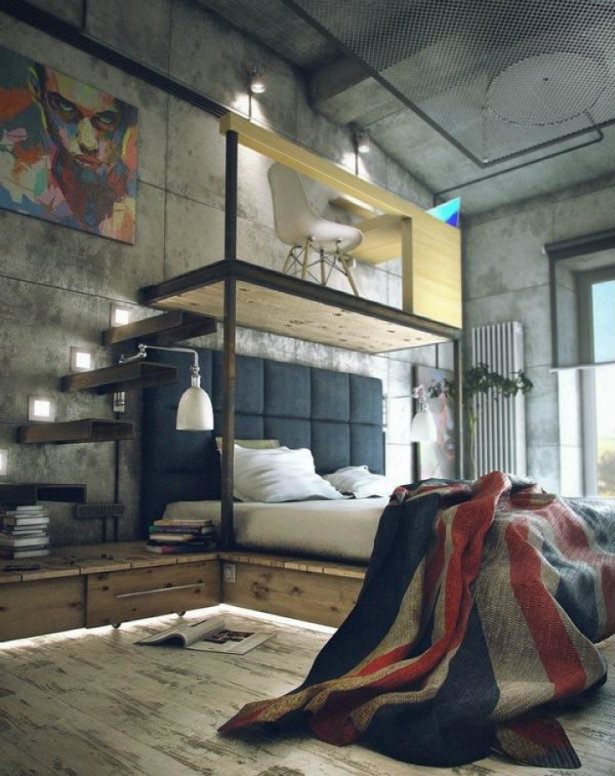 Bringing New York Loft Style into the Bedroom loft style Bringing New York loft style into the bedroom Bringing New York Loft Style into the Bedroom 6