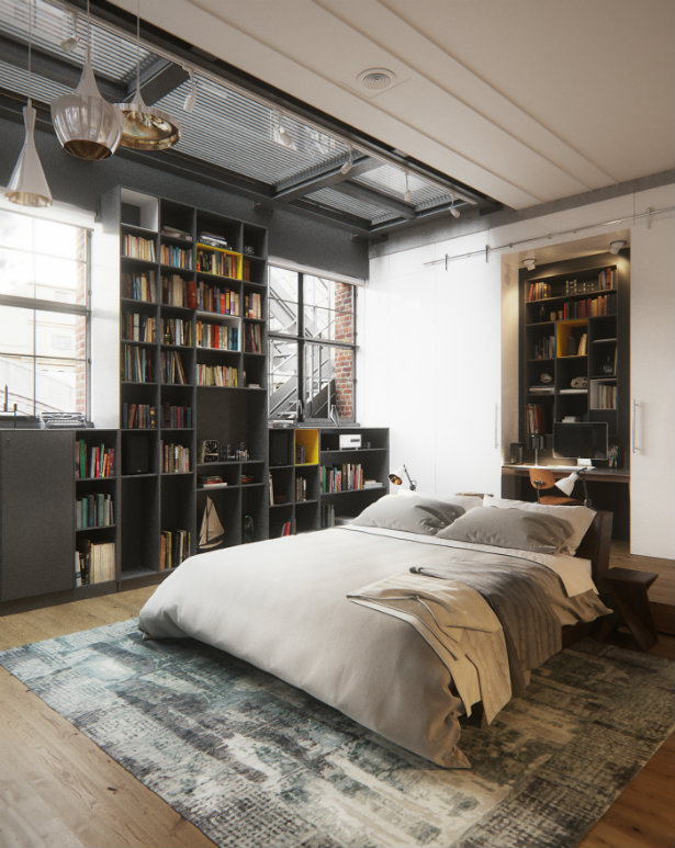 Bringing New York Loft Style into the Bedroom loft style Bringing New York loft style into the bedroom Bringing New York Loft Style into the Bedroom 9