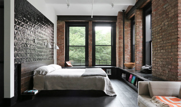Bringing New York Loft Style Into The Bedroom Vintage