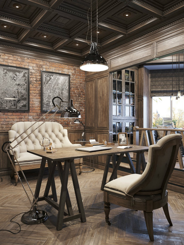 Offices with an industrial interior design touch  Offices with an industrial interior design touch Offices with an industrial interior design touch 2