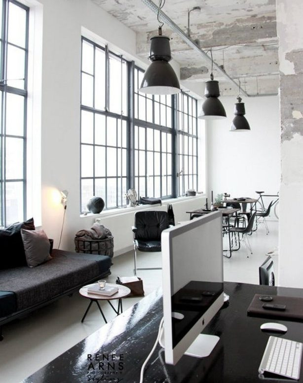 Offices with an industrial interior design touch industrial interior design Offices with an industrial interior design touch Offices with an industrial interior design touch 8 e1468259180745