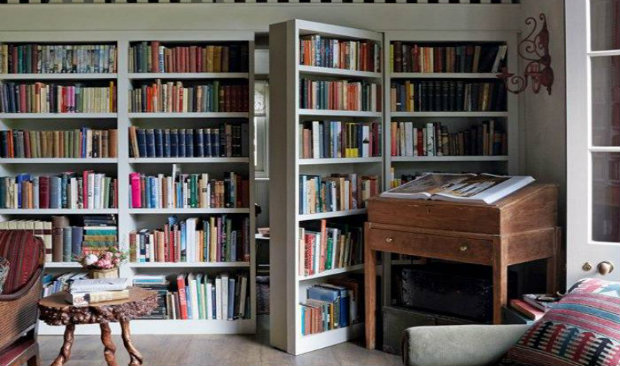 Vintage-Inspired Home Libraries to Envy