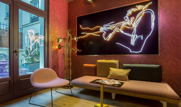 Idol Hotel: The Grooviest Hotel in Paris!