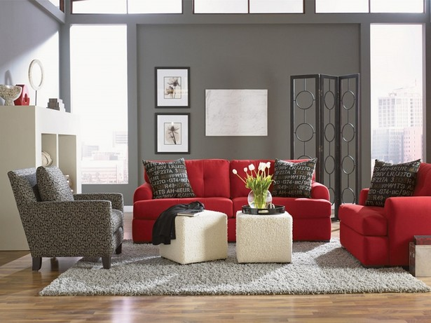 Red Alert! How to decorate with white and red