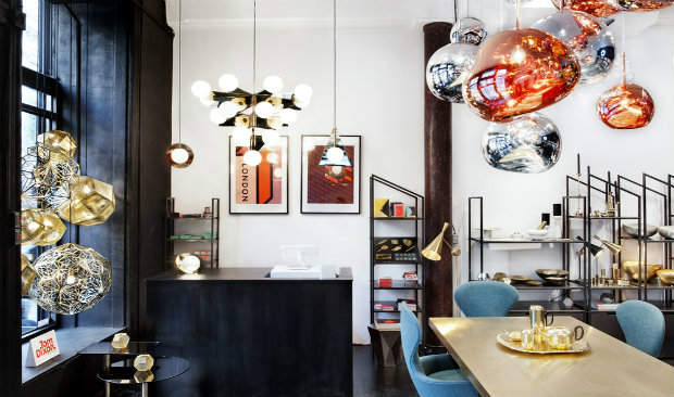 Tom Dixon's Amazing Showroom in Manhattan