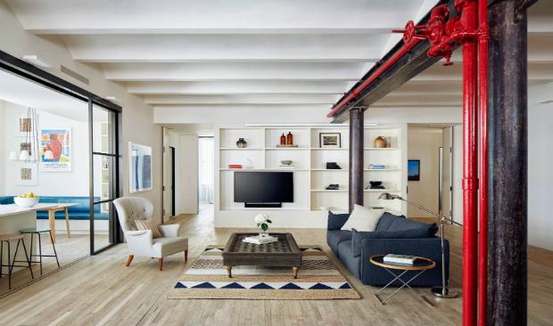 Historic New York Loft Refurbished