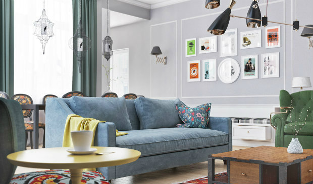 english style living room An English style living room with a Scandinavian atmosphere This English style living room has a Scandinavian atmosphere f