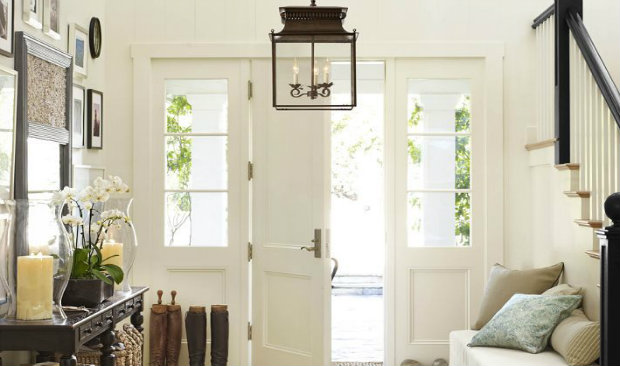 The perfect lighting for your entryway