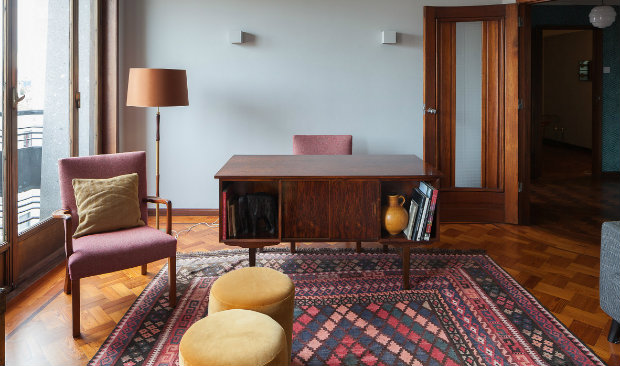 3 Dazzling Apartments with Retro Interiors in 1940s Porto Building FEAT retro interior 3 Dazzling Apartments with Retro Interiors in 1940s Porto Building 3 Dazzling Apartments with Retro Interiors in 1940s Porto Building FEAT